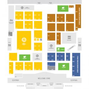 Mapa hali i Wystawcy